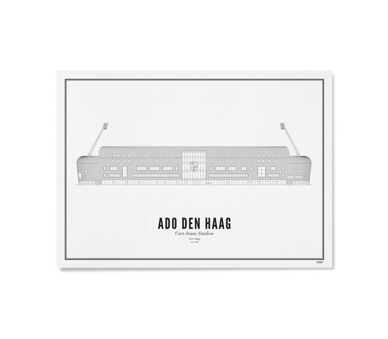 Poster A4 -Stadion ADO Den Haag