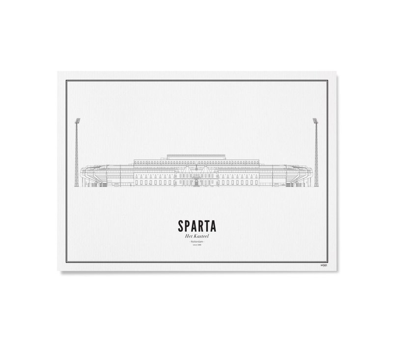 Poster A4 -Stadion Sparta