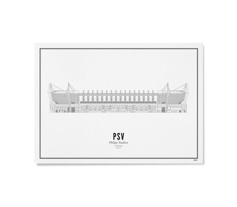 Poster A4 - Stadion PSV
