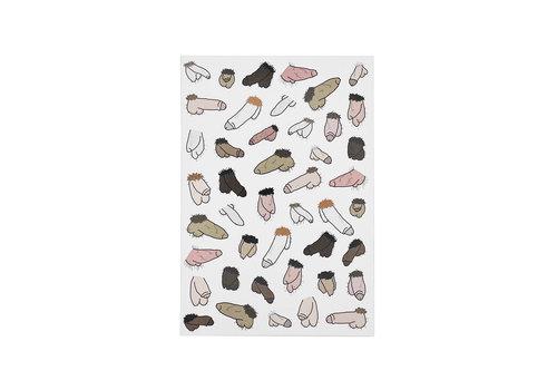Eatmielies A5 notitieboek - Hairy Willies
