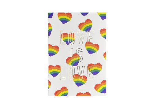 MAP Notitieboek -Love Is Love