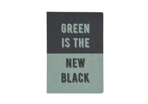 MAP A5 Notebook- Green is the new black