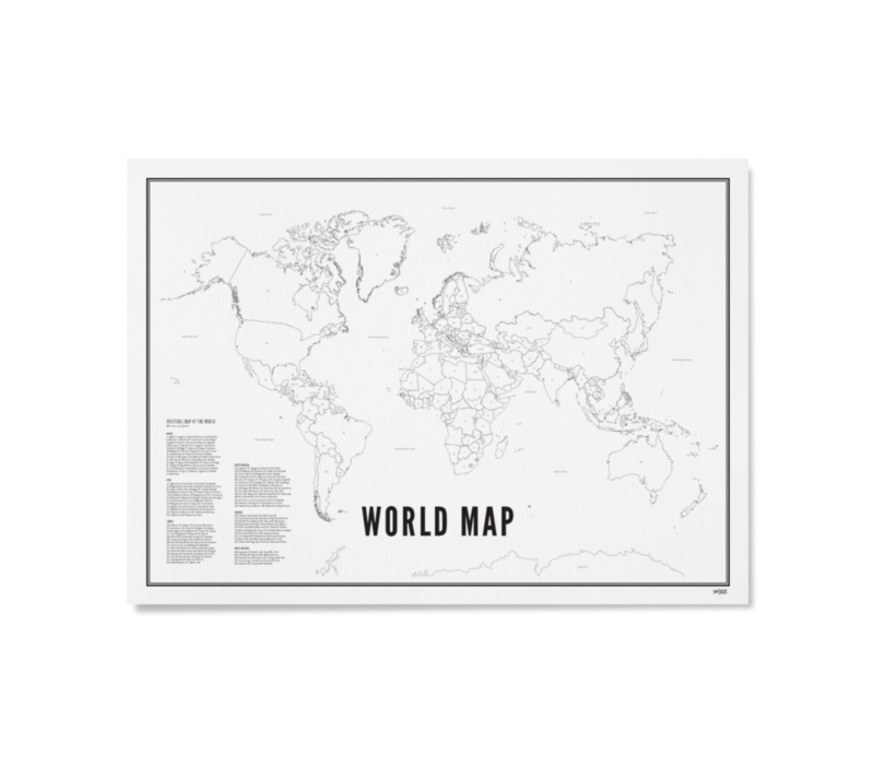 Poster 30x40 - World Map