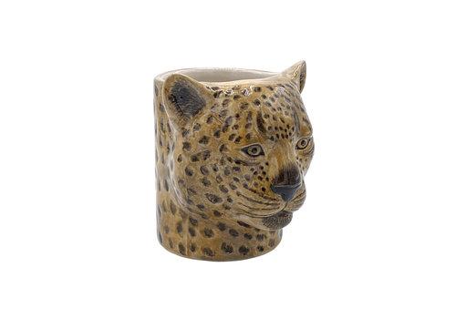 Quail Designs Potloden potje Luipaard