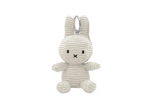Bon Ton Toys Nijntje Sleutelhanger Corduroy Offwhite 10 cm
