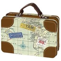 Blikje- Mini koffertje