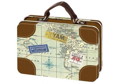 Kingspoint Blikje- Mini koffertje