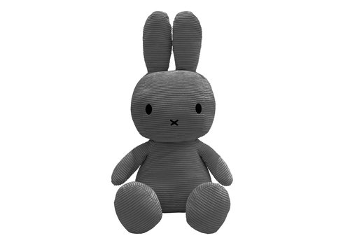 Bon Ton Toys Nijntje Corduroy Grey 70 cm