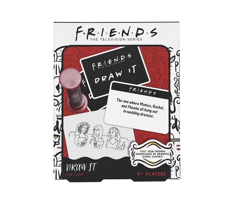 Friends game Draw it