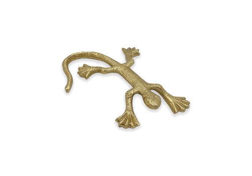 Housevitamin Decoratie -  goudkleurige salamander