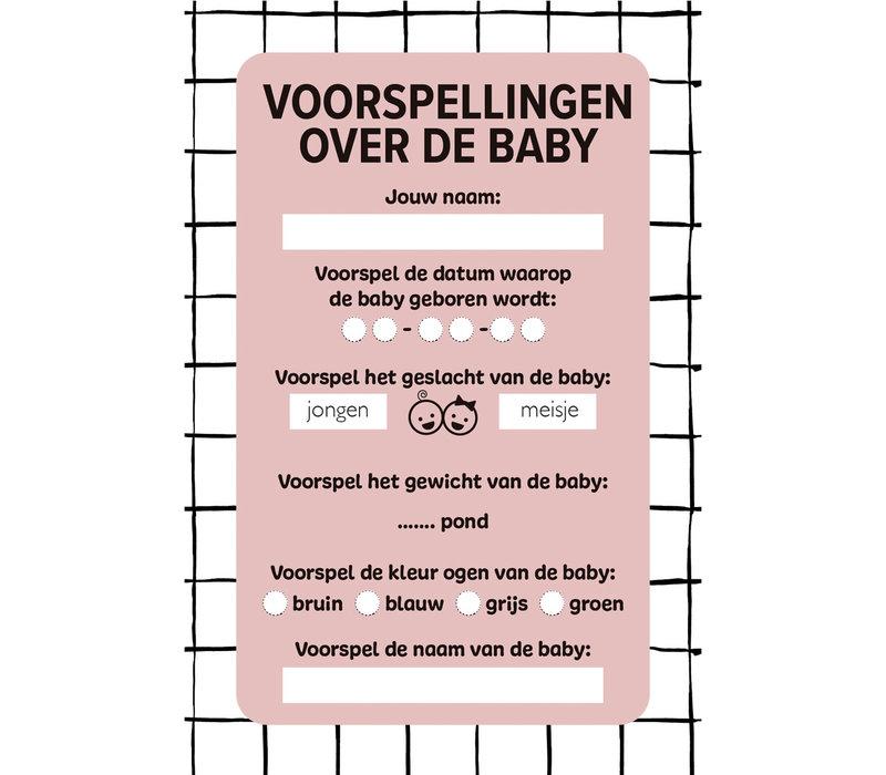 Baby shower- boekbox