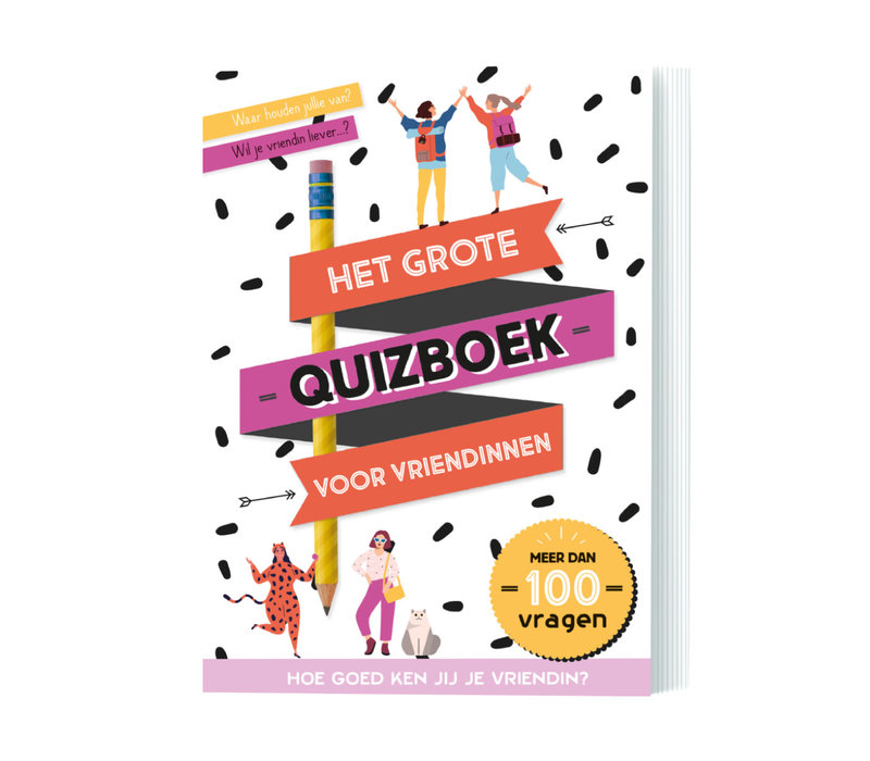 Het grote quizboek voor vriendinnen