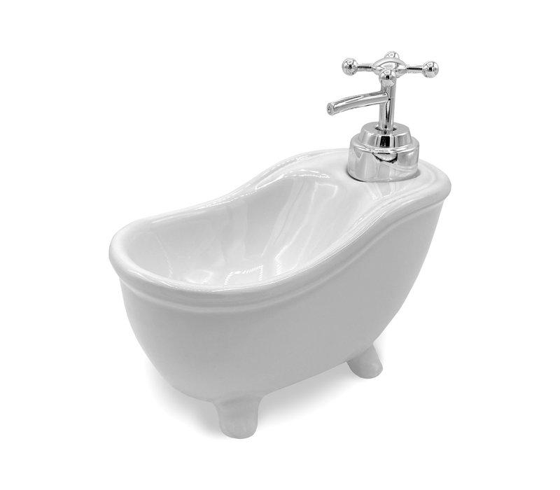Zeeppompje en houder-  badkuip