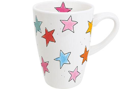 BLOND AMSTERDAM XL beker Stars
