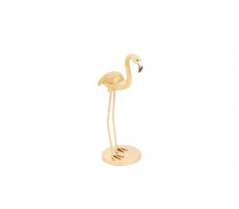 Goudkleurige Flamingo