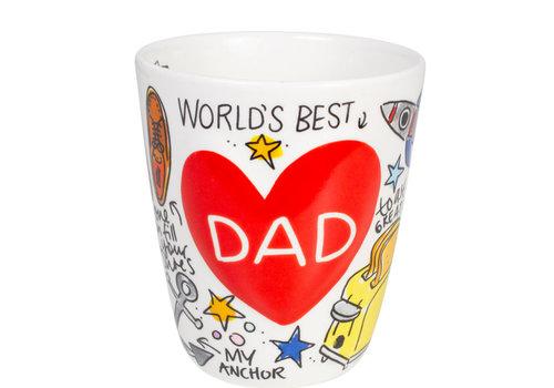 BLOND AMSTERDAM DAD 3D mok