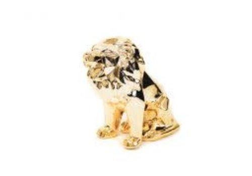 Housevitamin Leeuw Geometrisch goud