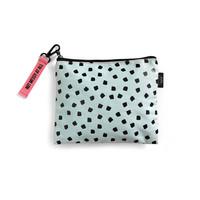 Canvas Bag Mint Dots