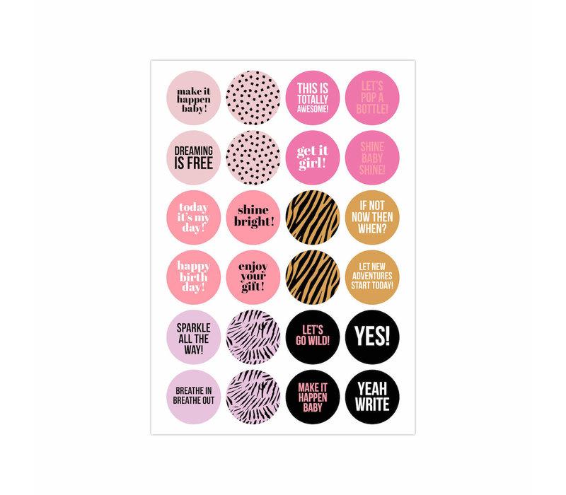 Stick It Stickerbook Pink