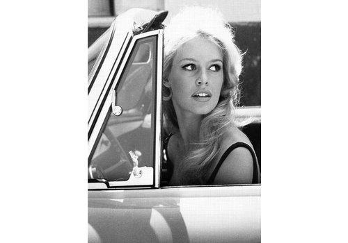OPK Poster Brigitte Bardot Car A3