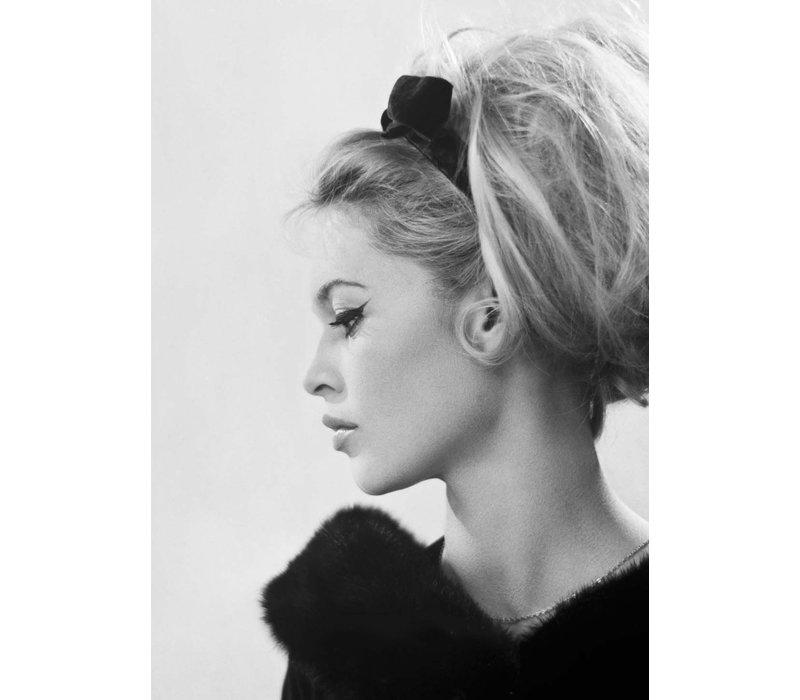 Poster Brigitte Bardot zijkant  A3