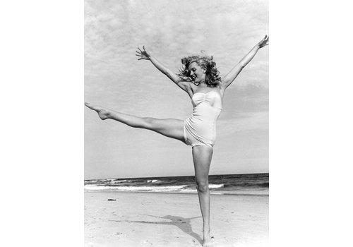 OPK Poster Marilyn Monroe strand A3