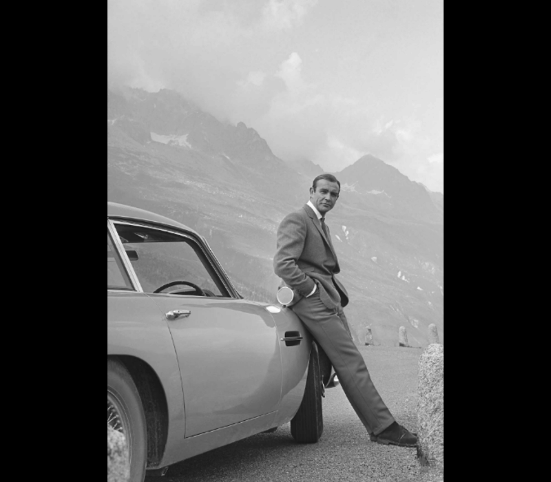 Poster Sean Connery A3