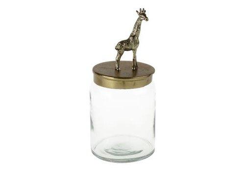 Werner Voss Pot met giraf op deksel