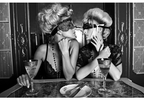 Wandkraft Kiss Me - Metropolitan Collectie