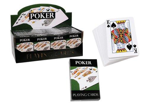 Speelkaarten- Poker