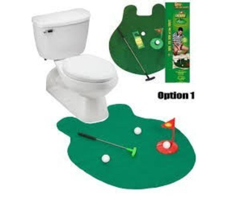 Toilet Golf Set