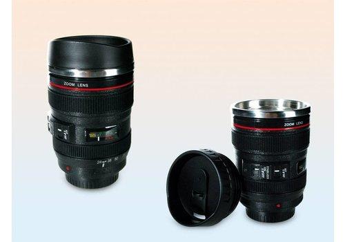 Plastic beker- Camera lens