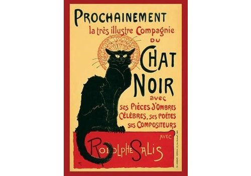 Poster 139 |  CHAT NOIR