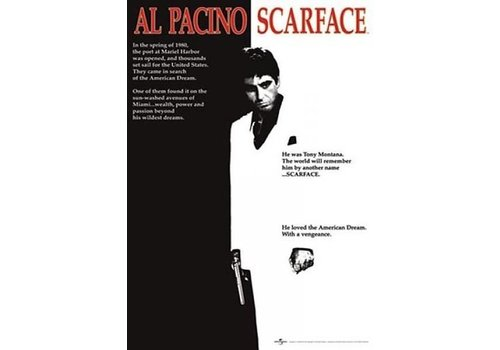 Poster 168 |  SCARFACE - MOVIE