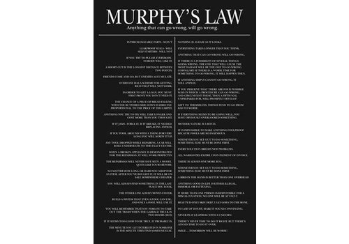 Poster |  MURPHY'S LAW