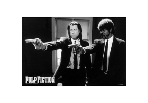 Poster |  PULP FICTION B/W GUNS