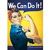 Poster |  WE CAN DO IT VINTAGE