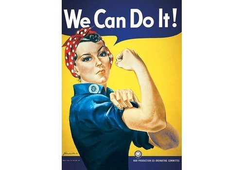WE CAN DO IT VINTAGE
