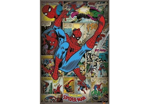 Poster 35 |  MARVEL COMICS SPIDERMAN RETRO