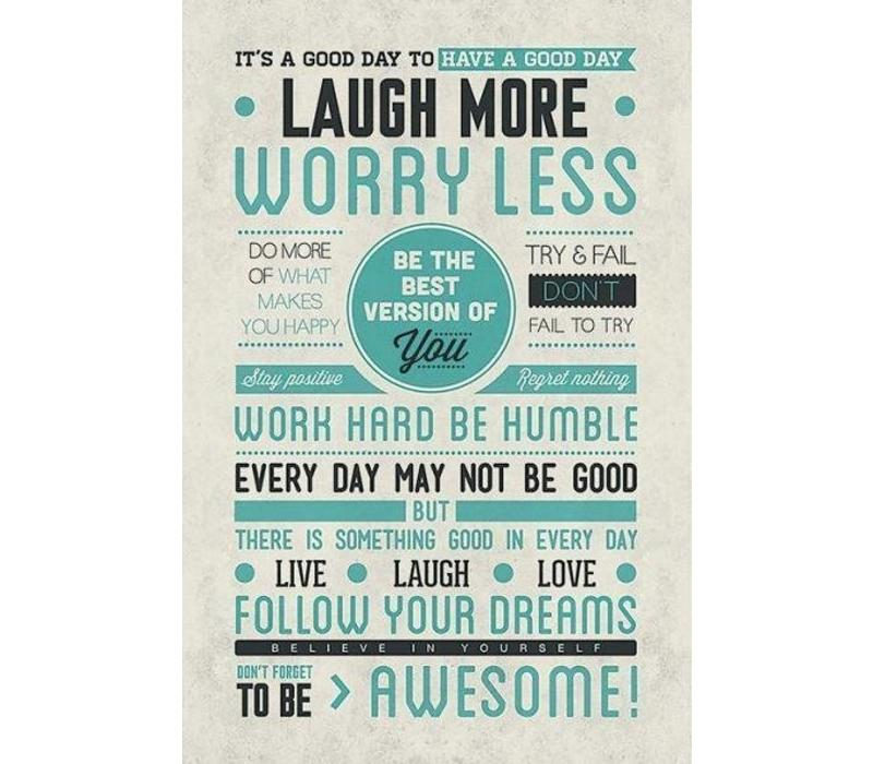 Poster |  BE AWESOME
