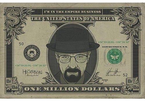 Poster |  BREAKING BAD HEISENBERG DOLLAR