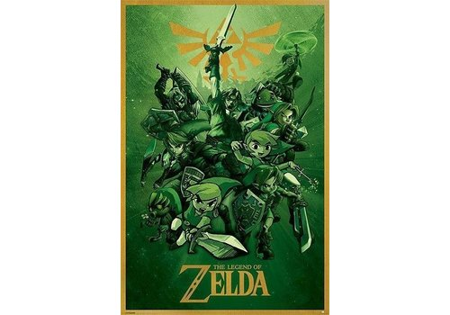 Poster |  THE LEGEND OF ZELDA LINK
