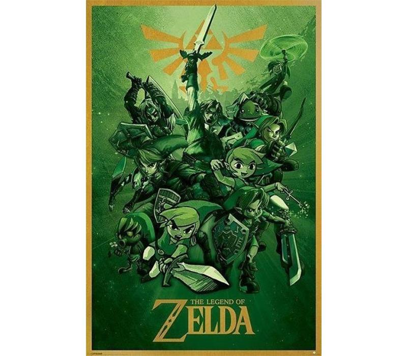 Poster 53 |  THE LEGEND OF ZELDA LINK