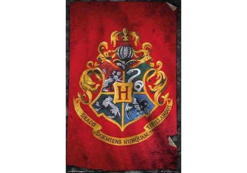 Poster 106    HARRY POTTER HOGWARTS FLAG