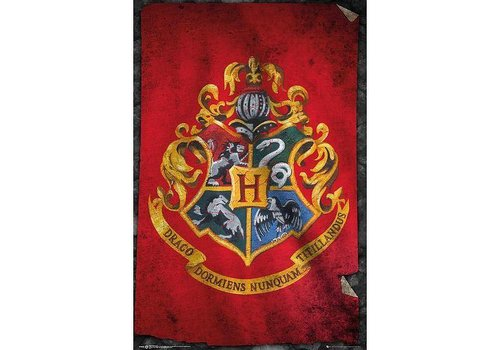 Poster |  HARRY POTTER HOGWARTS FLAG