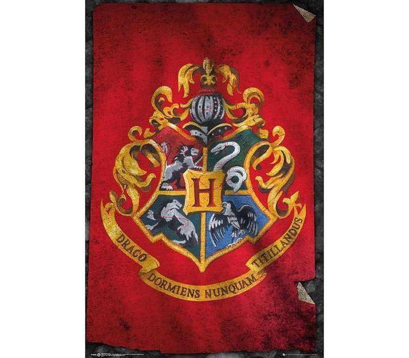 Poster |  HARRY POTTER HOGWARTS FLAG