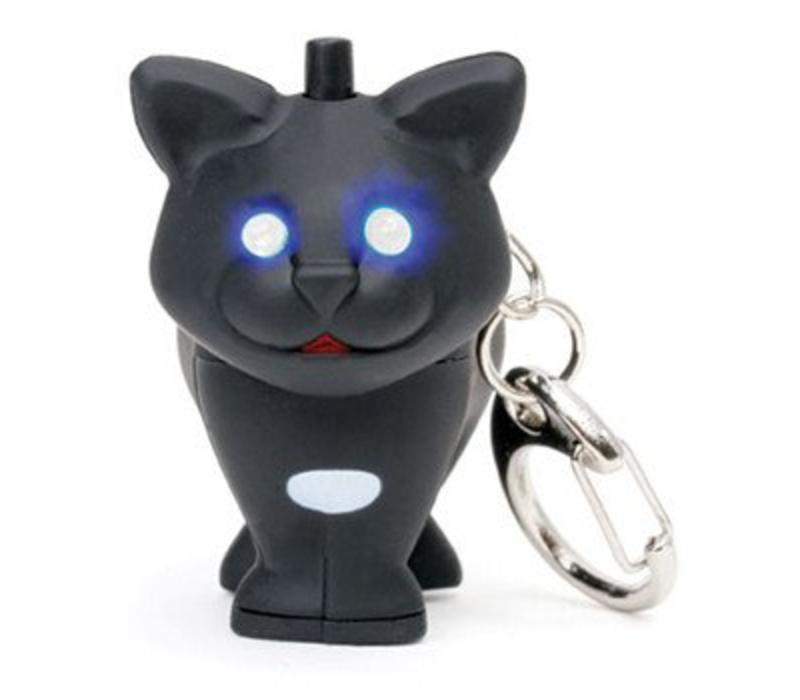 Sleutelhanger- zwarte kat