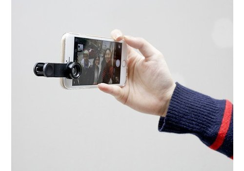 Kikkerland Set camera lensjes voor mobiel