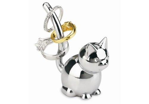 Zoola -ringhouder kat chroom