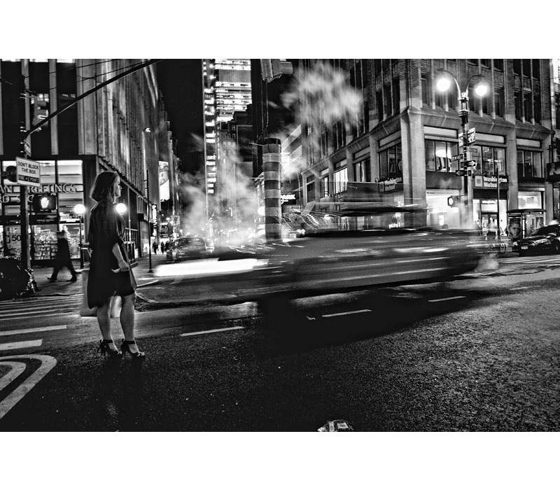 New York rush zwart wit